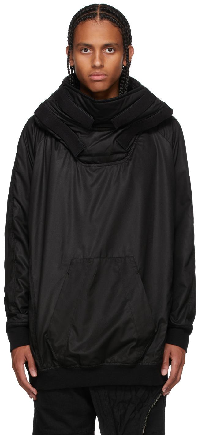 Black Padded Hoodie Jacket
