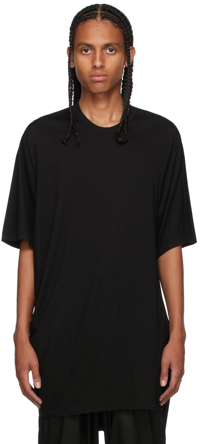 Black Twisted T-Shirt