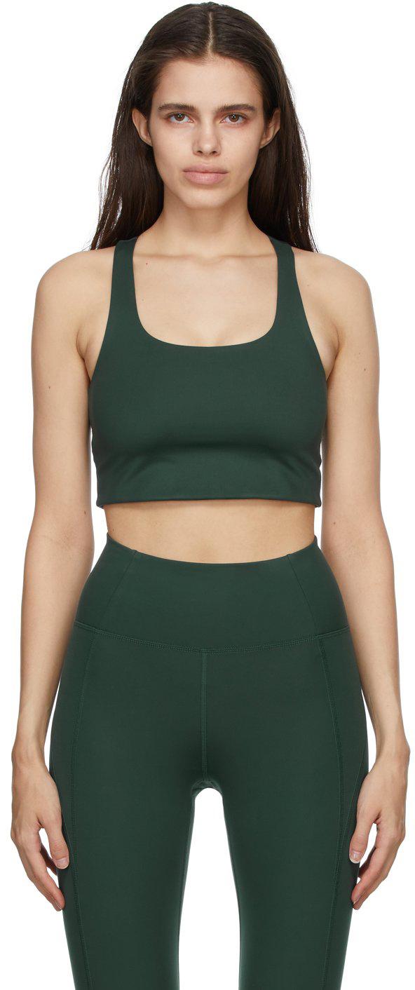Green Paloma Sports Bra