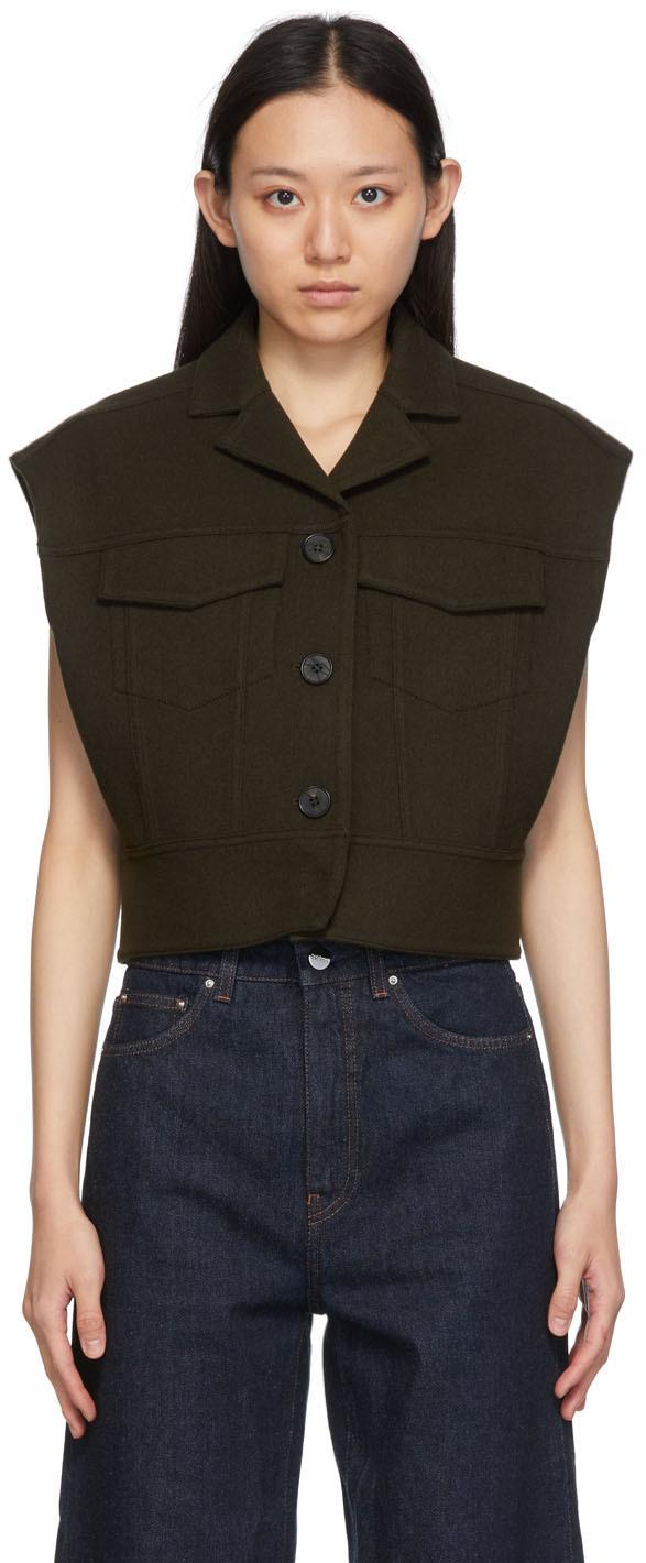 Brown Handcrafted Vest