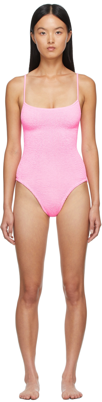Pink Pamela One-Piece Swimsuit