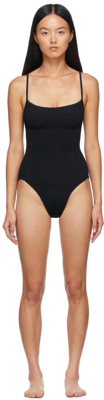 Black Pamela One-Piece Swimsuit