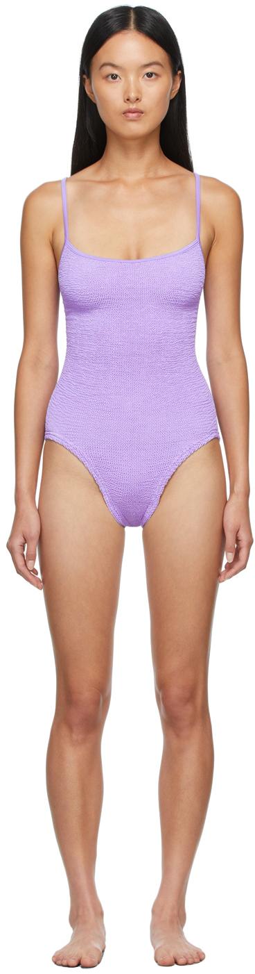 Purple Pamela One-Piece Swimsuit