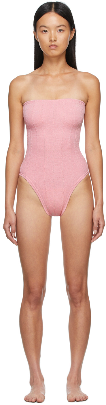 Pink Audrey Nile One-Piece Swimsuit