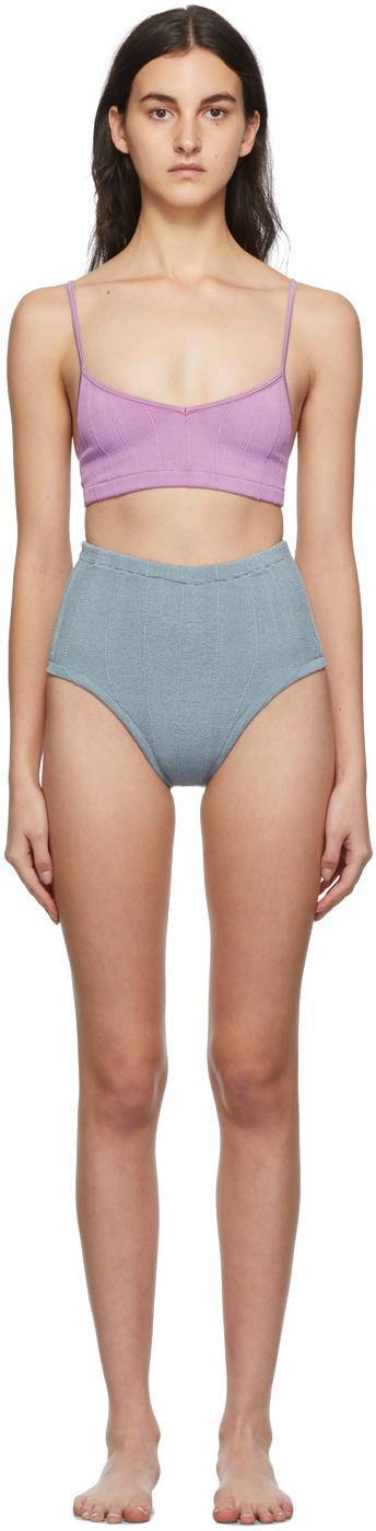 Purple & Green Duo Edie Nile Bikini