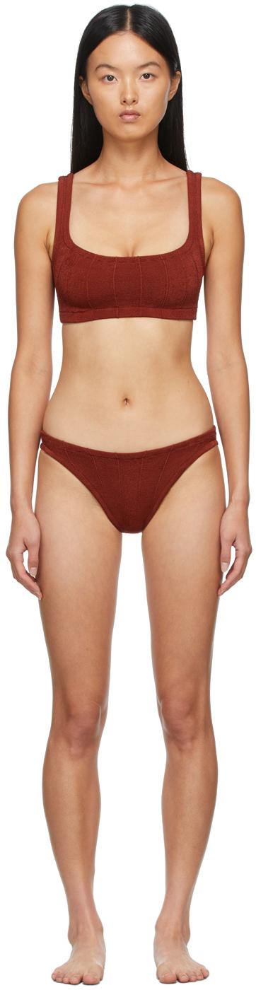 Brown Helena Nile Bikini