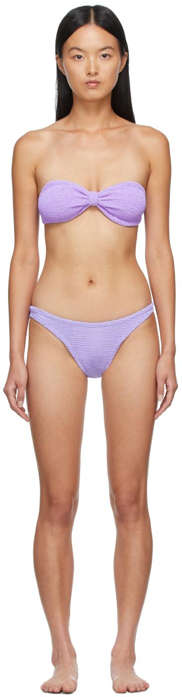 Purple Jean Bikini