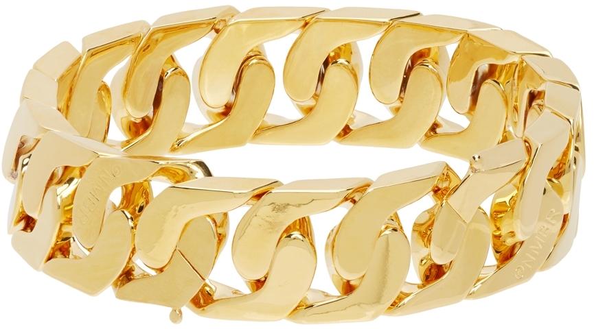 Gold #270 Anklet & Bracelet