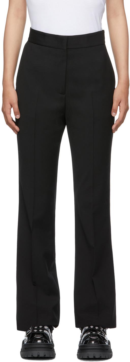 Black Bell Bottom Trousers