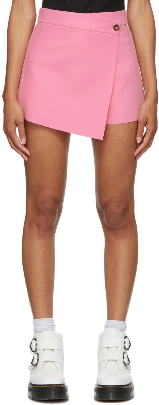 Pink Cady Short Skort