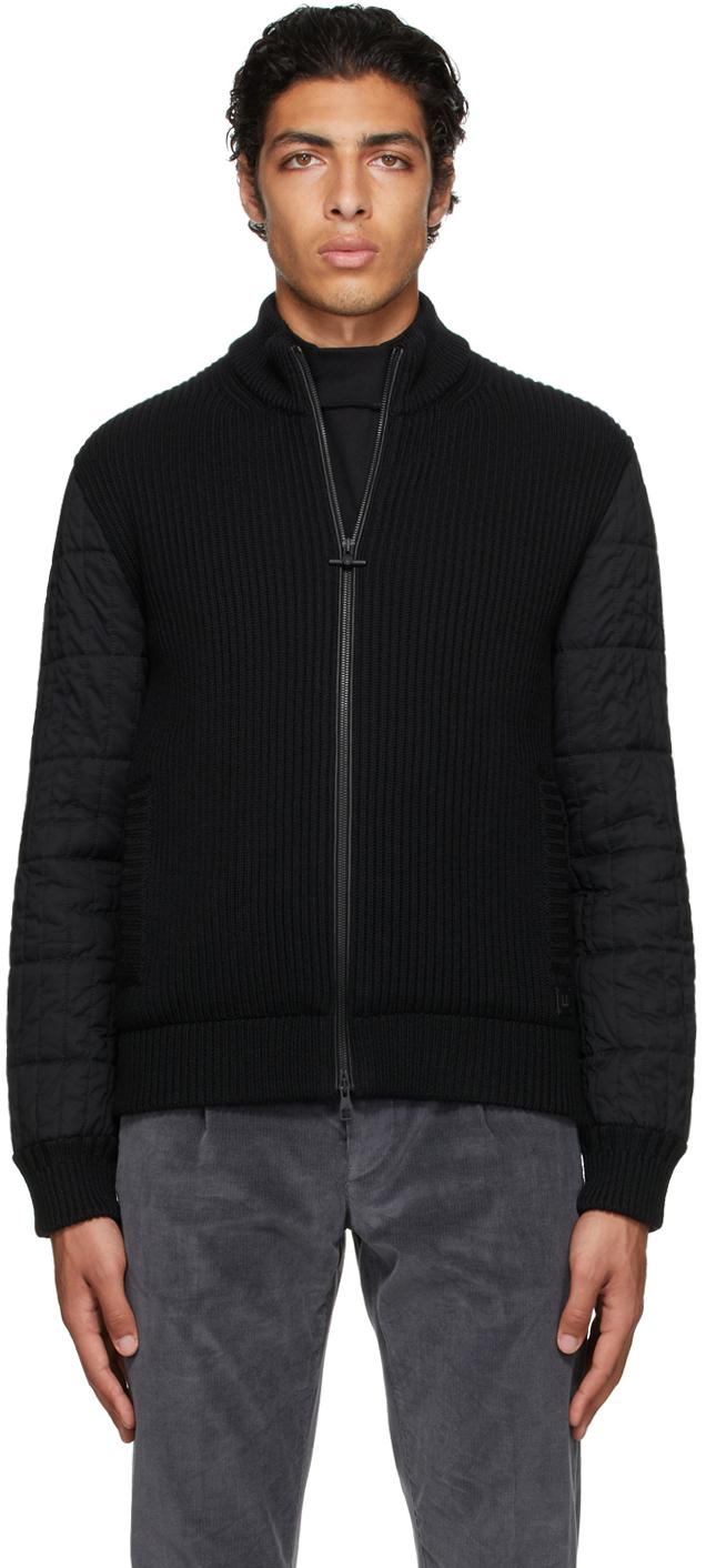 Black Rolla Quilt Jacket