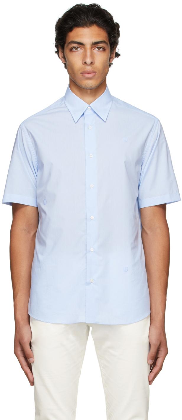 Blue D-Series Short Sleeve Shirt