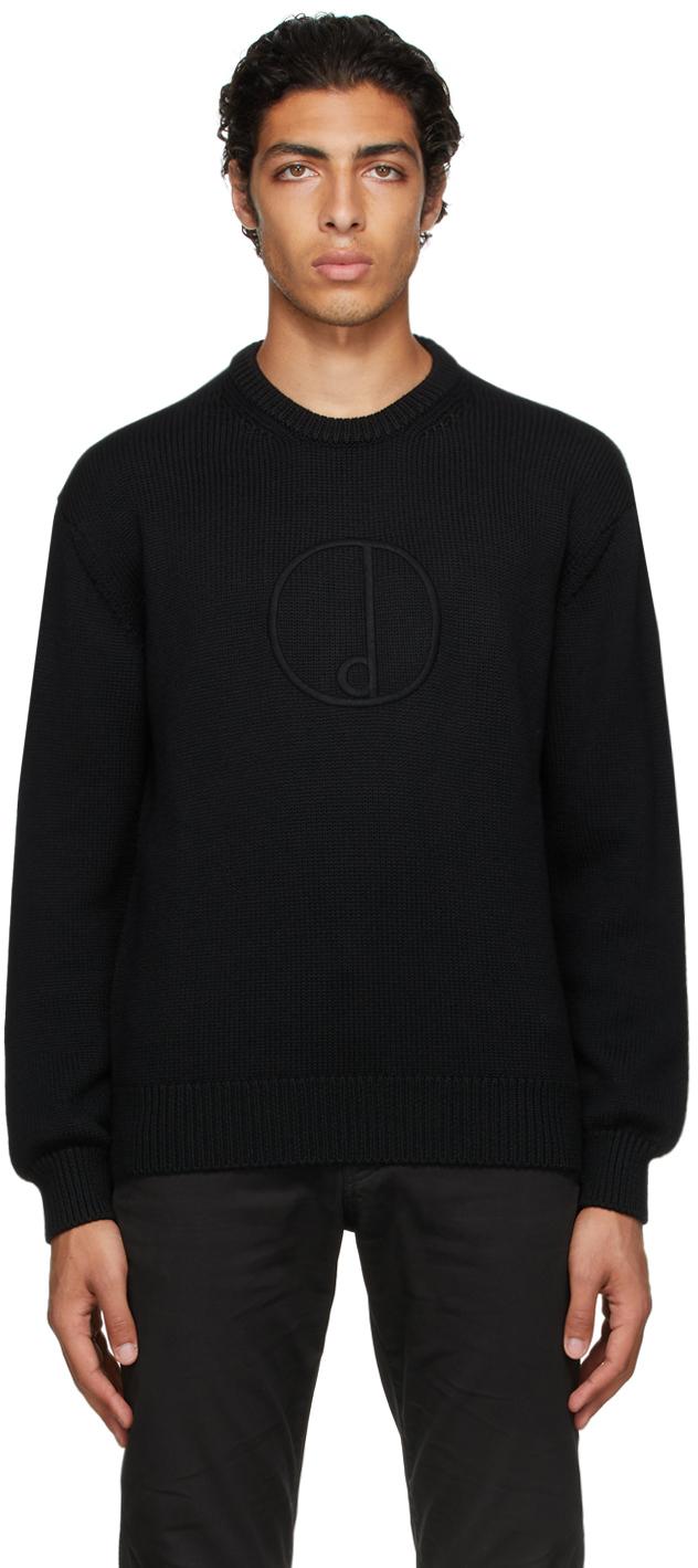 Black 'D' Sweater