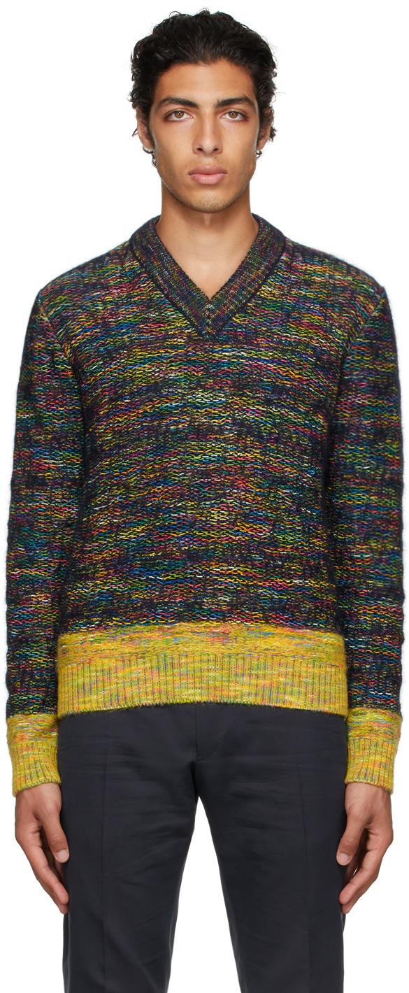 Multicolor Mohair Sweater