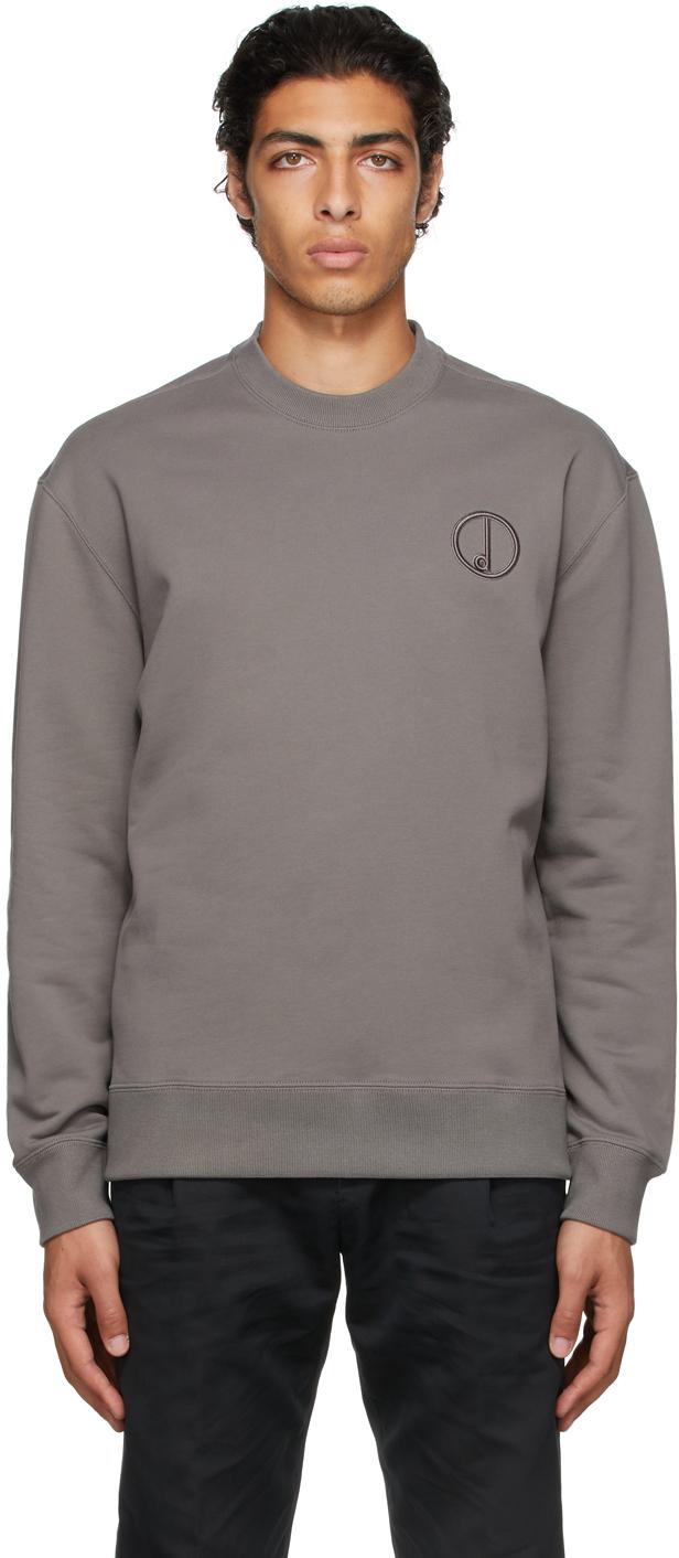 Grey Circle D Sweatshirt