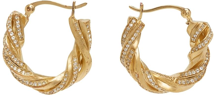 Gold Deep State Earrings
