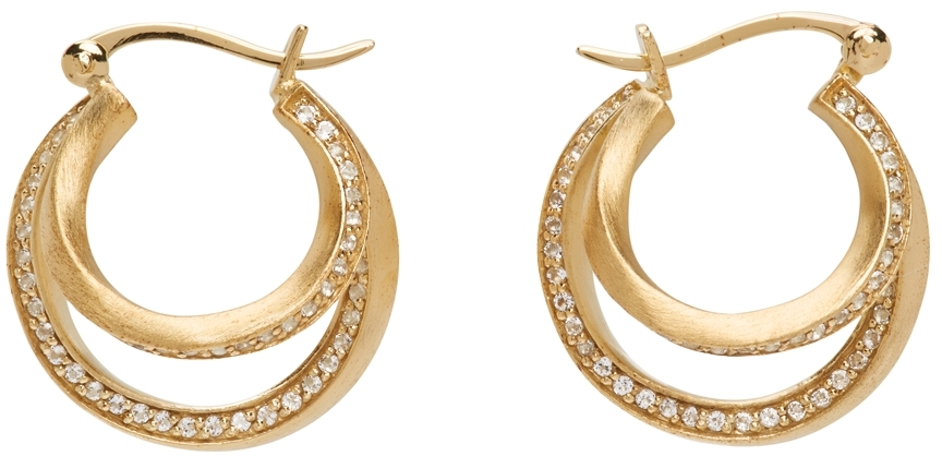 Gold Suburbs Earrings