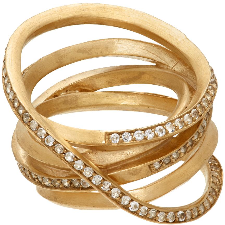 Gold 'The Murmur Of False Idols' Ring