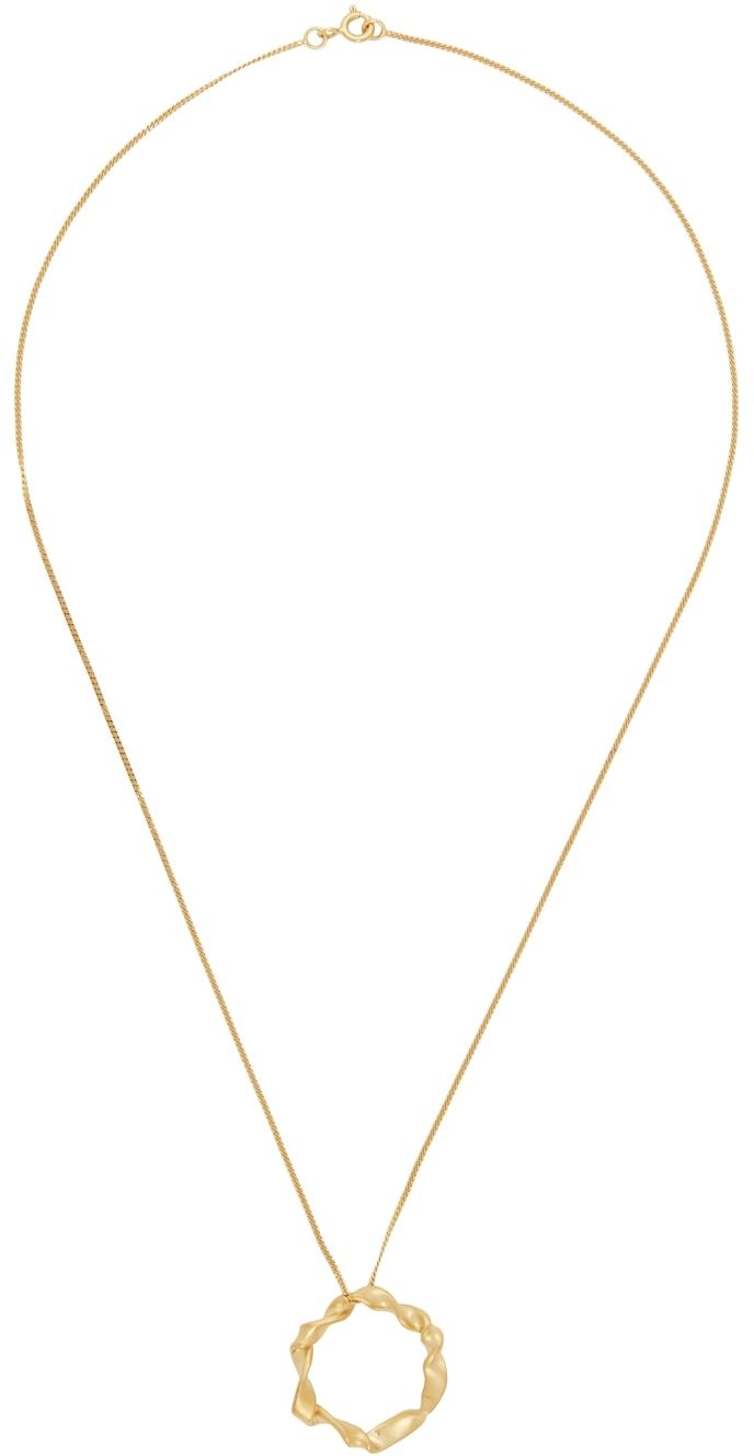 Gold Flux Necklace