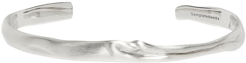 Silver Unconscious Landscape Bracelet