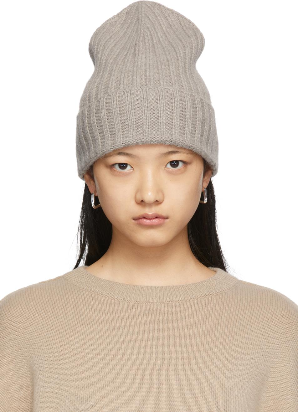 Grey Megan Beanie