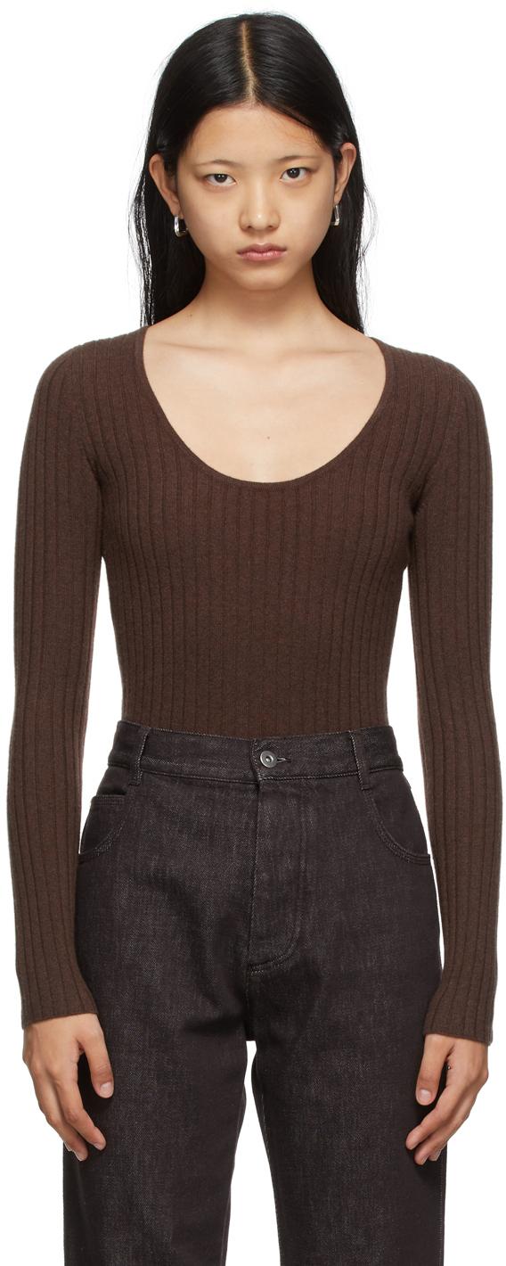 Brown Louisa Bodysuit