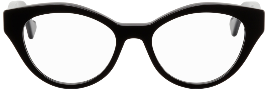 Black Oval GG Glasses