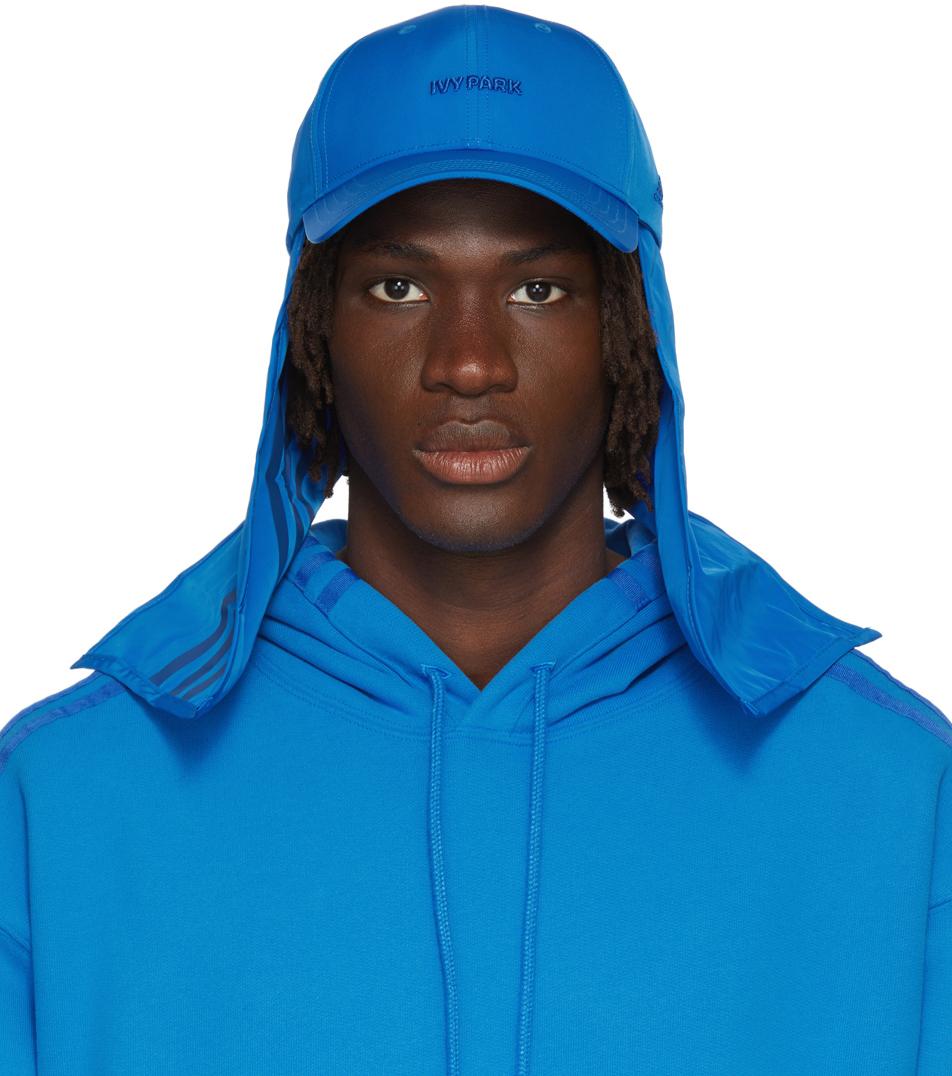 Blue Baseball Flap Cap