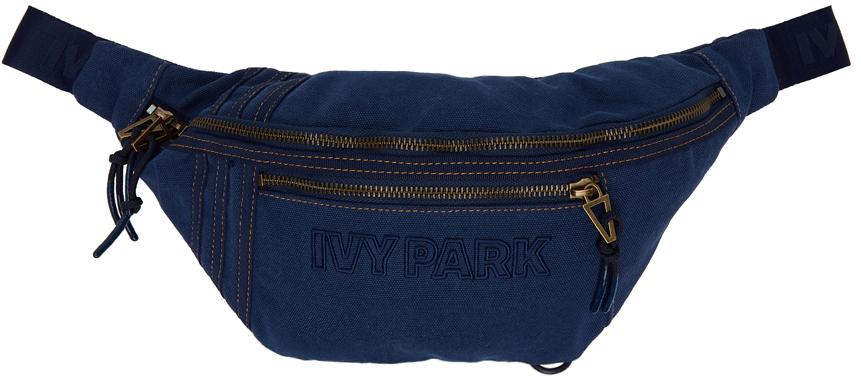 Navy Logo Waist Bag