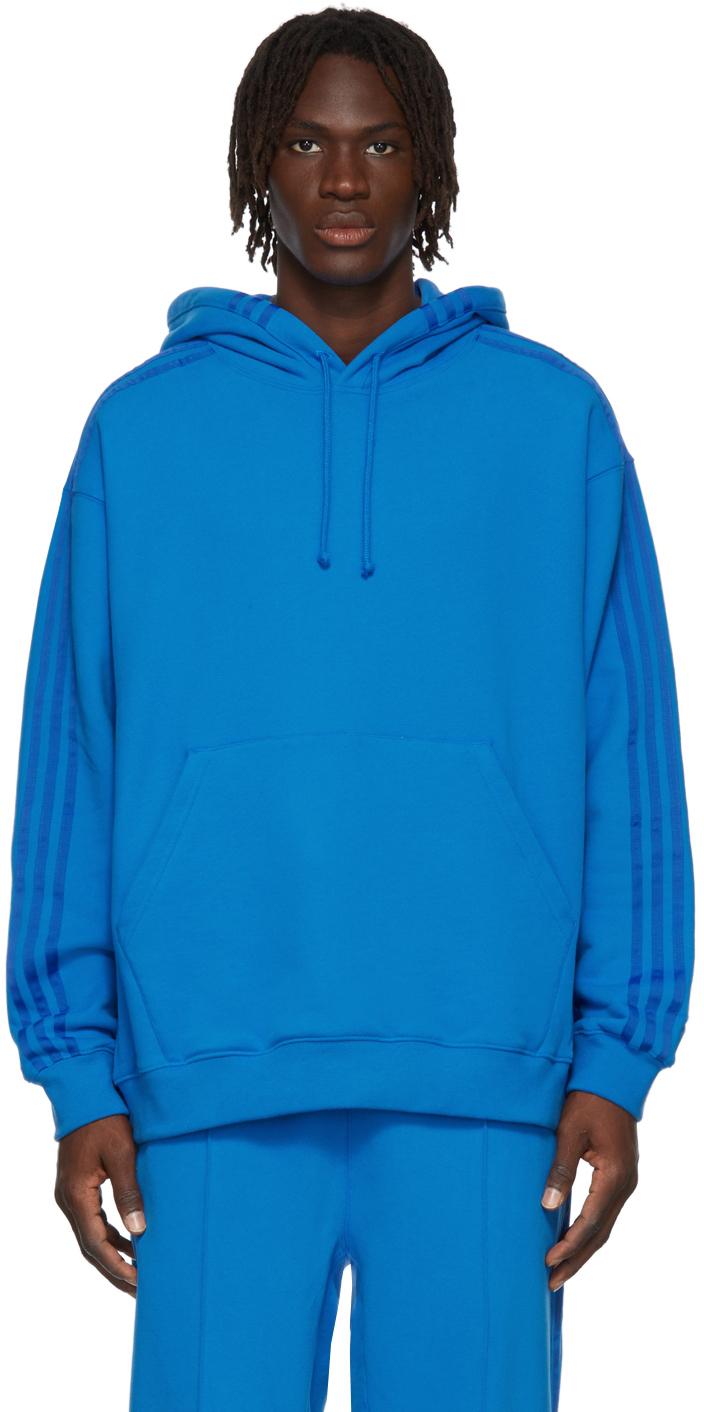 Blue Terry Hoodie