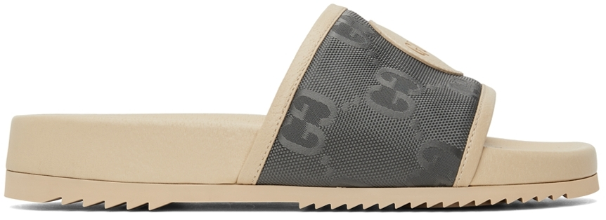 Gucci Off-White Off The Grid Slide Sandal