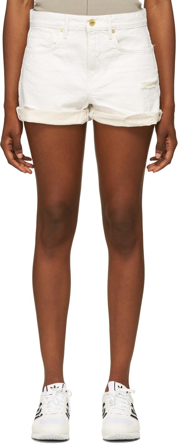 Off-White Denim 'Le Brigette' Shorts