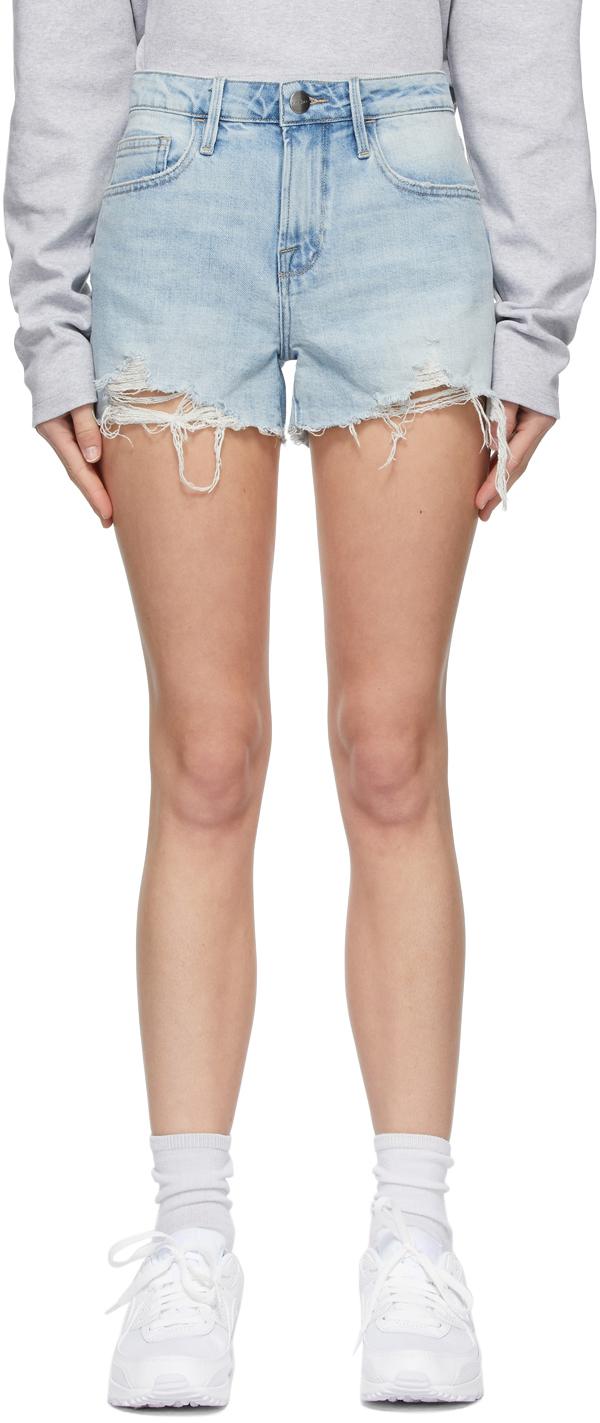 Blue 'Le Grand Garcon' Shorts