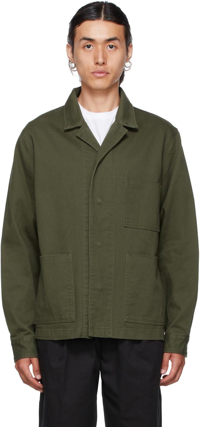 Khaki Workwear Jacket