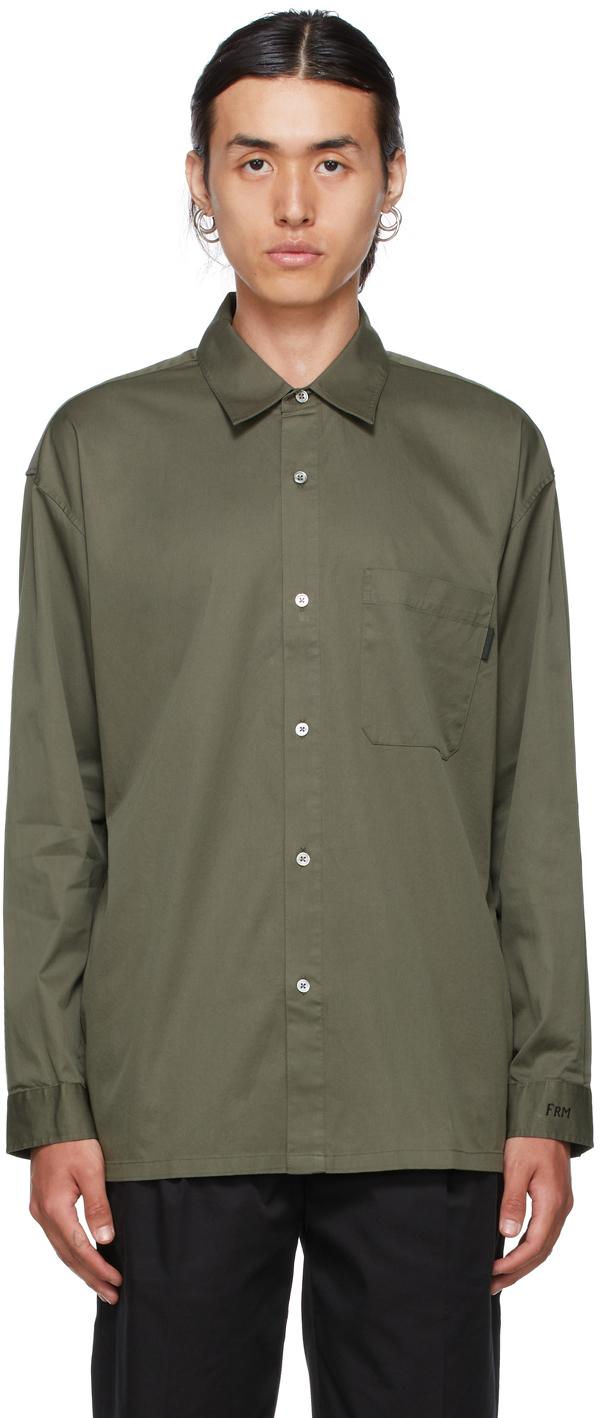 Frame Khaki Relaxed Shirt