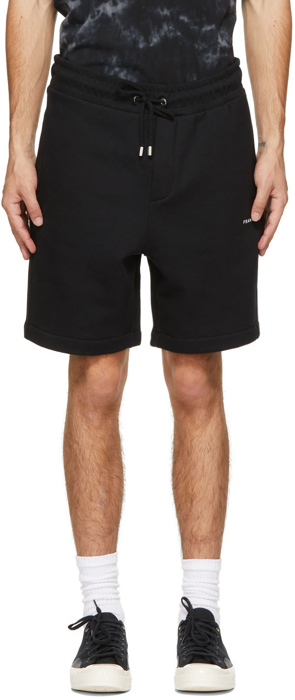 Black Fleece Logo Shorts