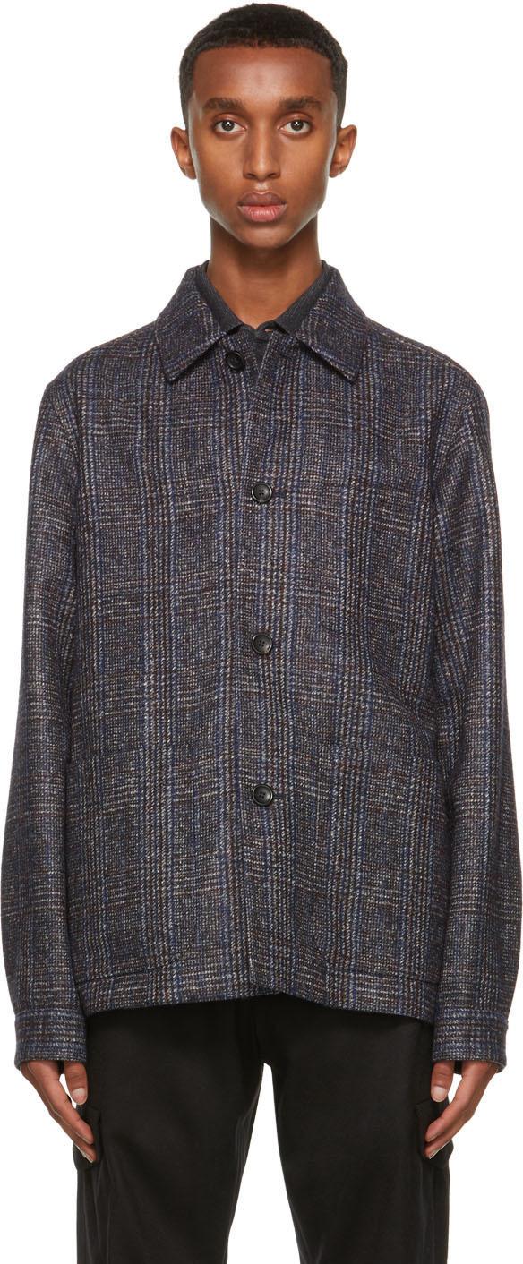 Multicolor Alpaca Tweed Jacket