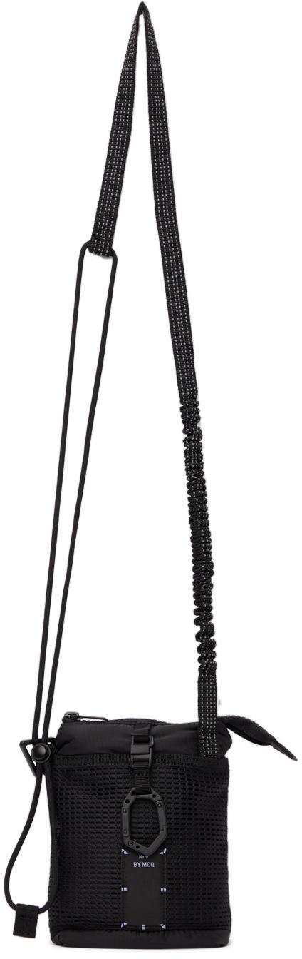 Black Ripstop Shoulder Bag