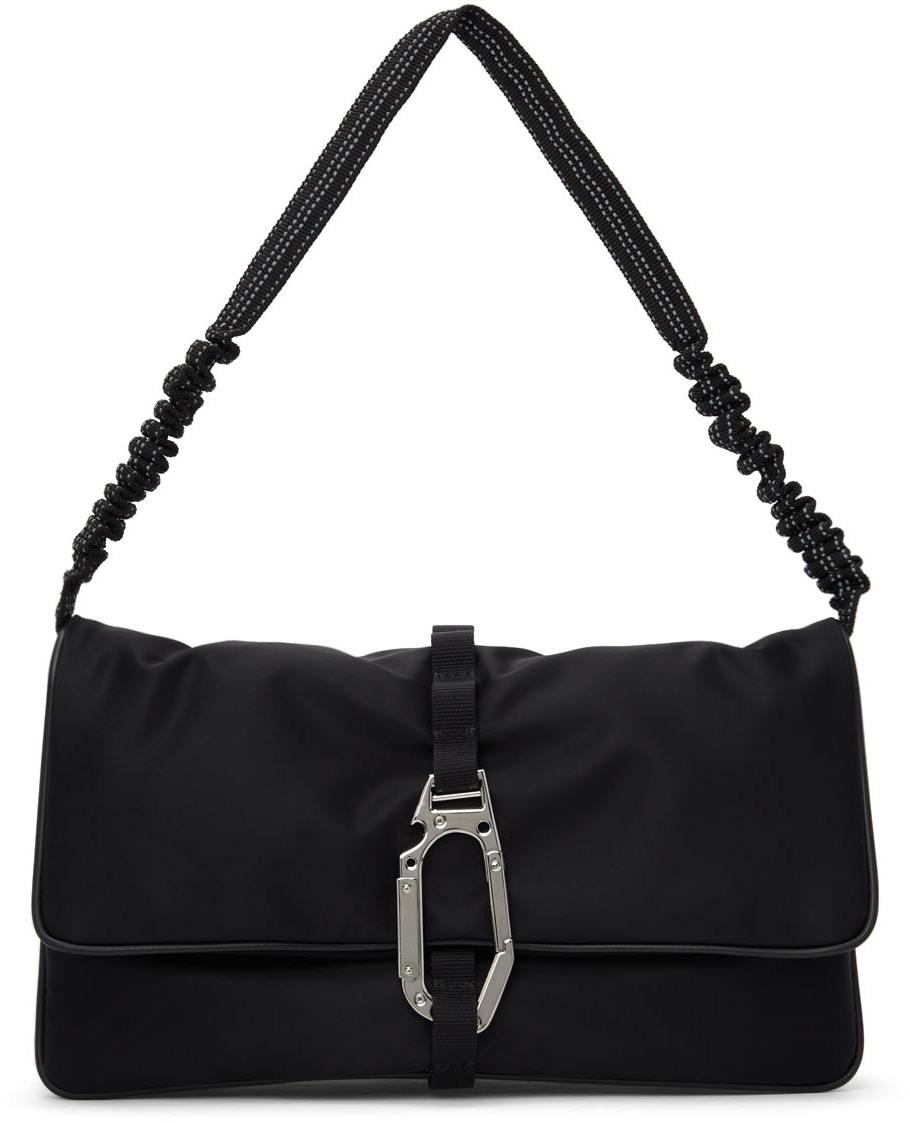 Black Hyper Puffer Bag