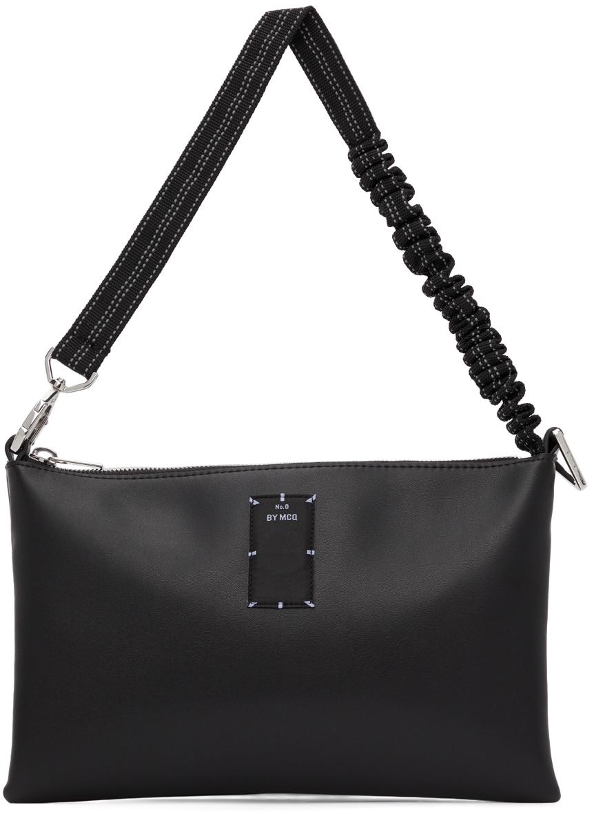 Black Logo Pouch Bag