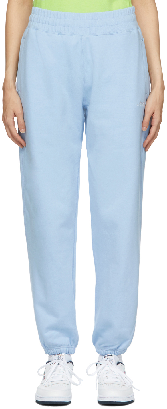 SSENSE Exclusive Blue Logo Lounge Pants