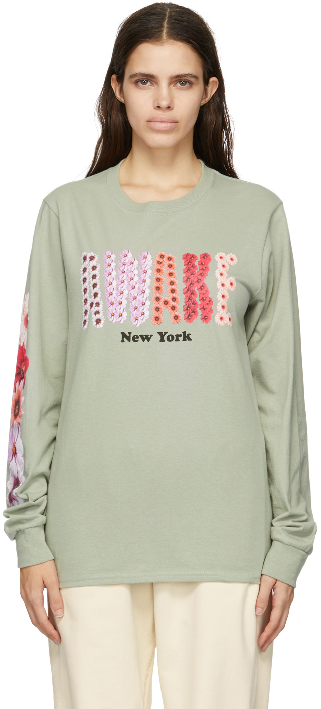 Green Bloom Logo Long Sleeve T-Shirt