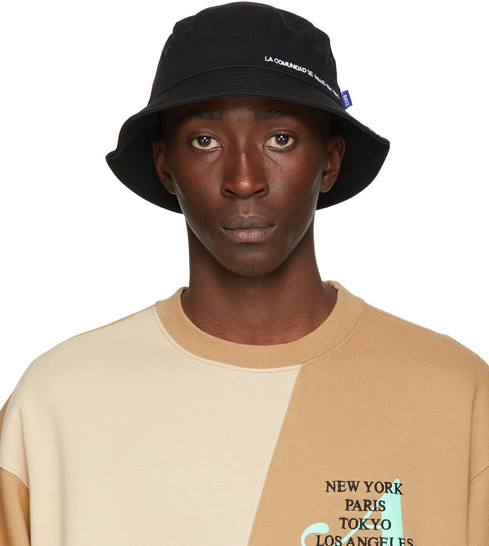 Black 'La Comunidad' Bucket Hat