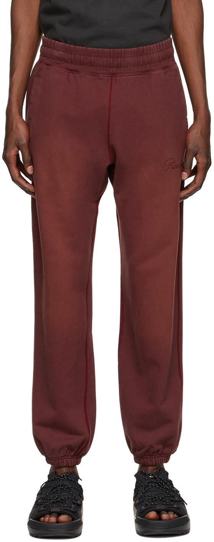 Brown Sun-Bleached Logo Lounge Pants