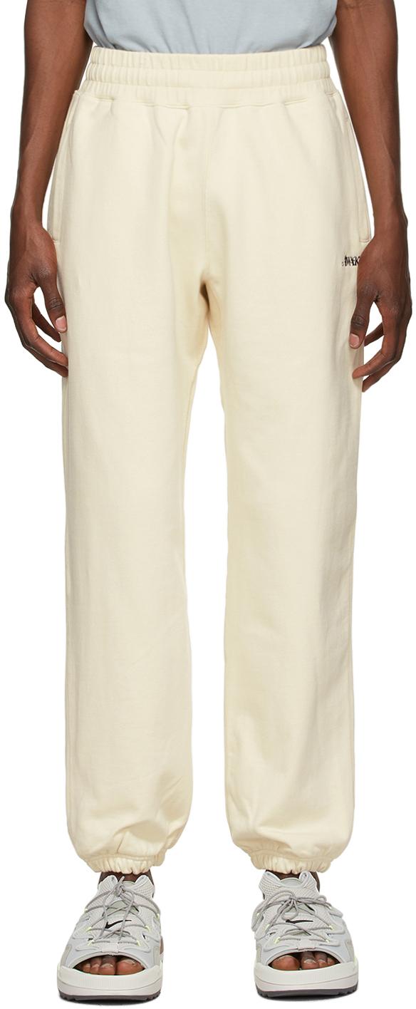 SSENSE Exclusive Off-White Logo Lounge Pants
