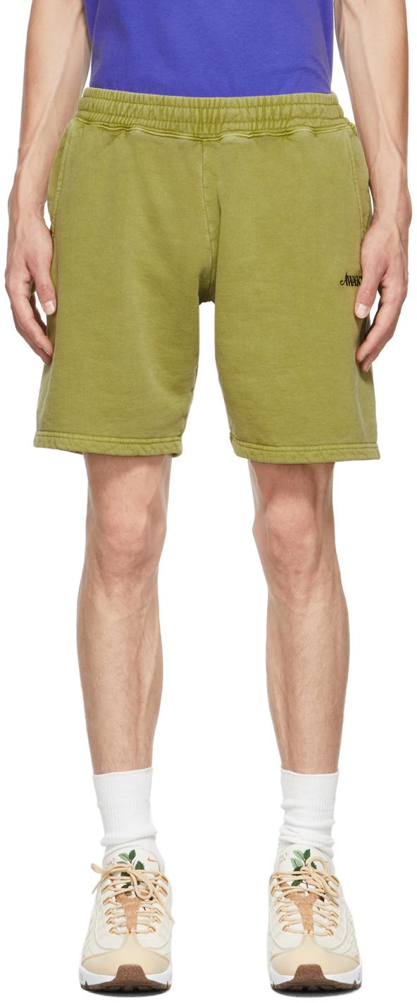 Green Logo Shorts