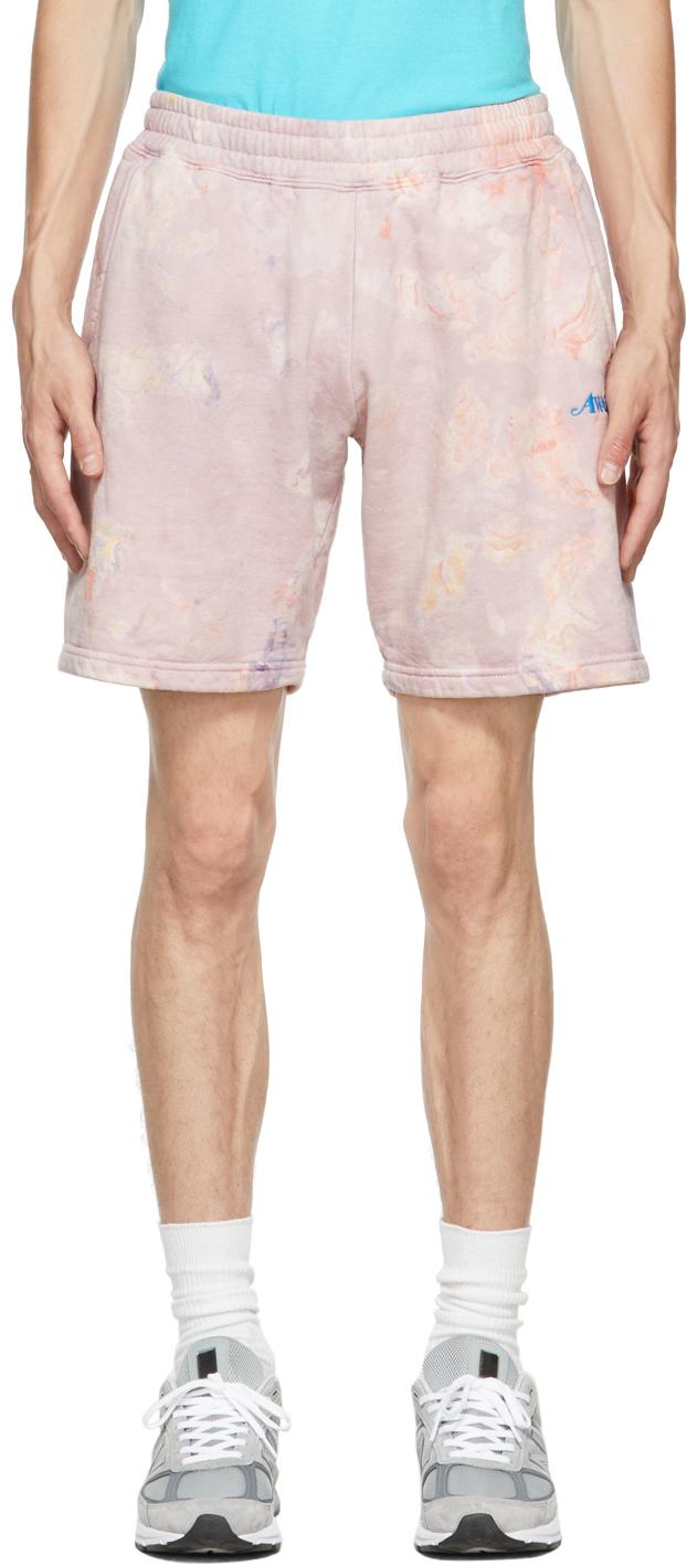 Pink Logo Shorts