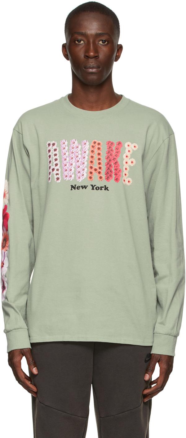 Green Bloom Long Sleeve T-Shirt