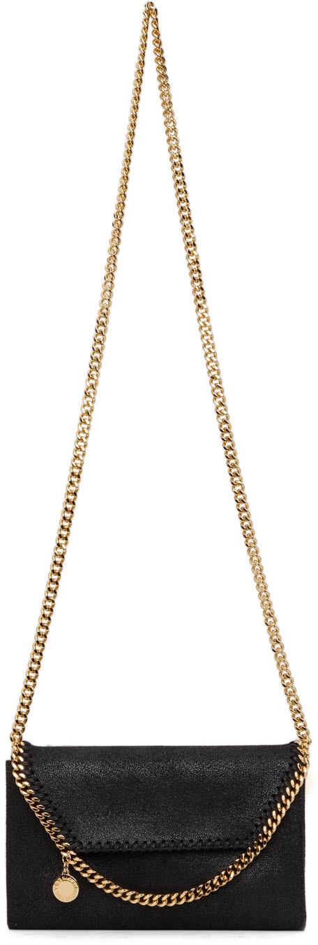 Black Mini Falabella Shoulder Bag