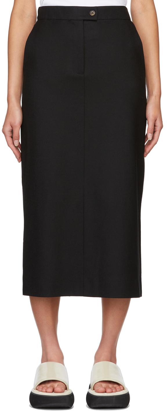 Black Sarnosa Skirt